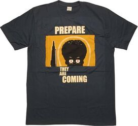 Mars Attacks Prepare Coming Alien T-Shirt