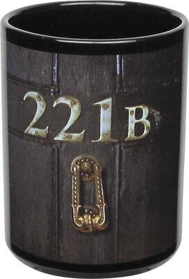 Sherlock 221B Door Glow in the Dark Mug