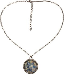 Doctor Who Pandorica Opens Circle Charm Necklace