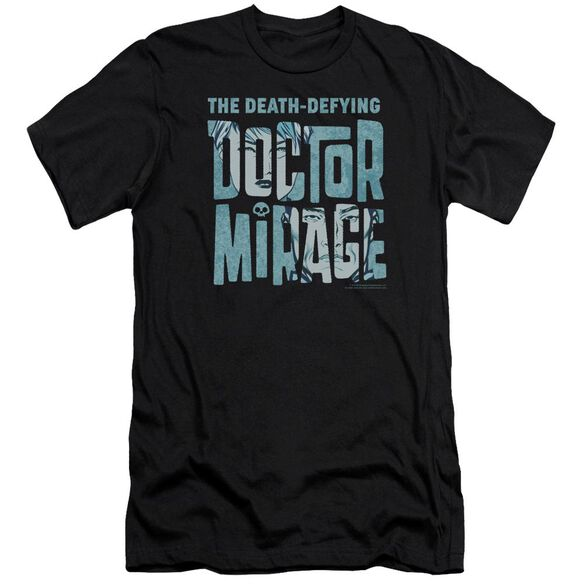 Doctor Mirage Character Logo Short Sleeve Adult T-Shirt