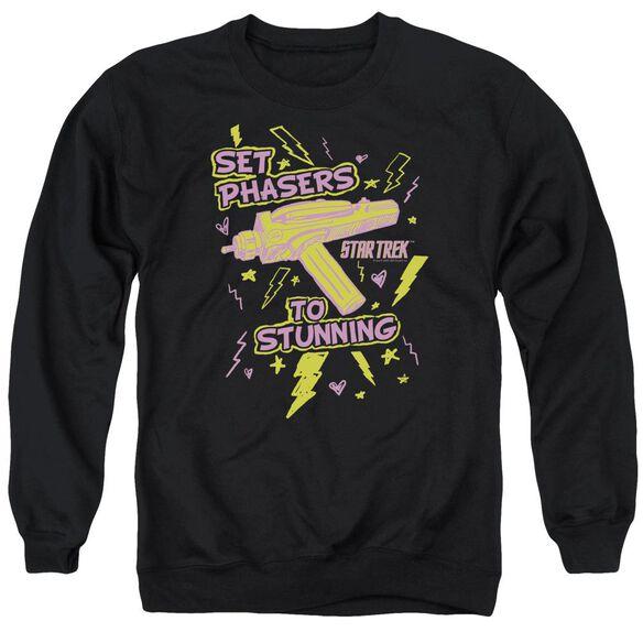 Star Trek Set Phasers Adult Crewneck Sweatshirt