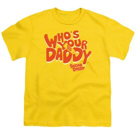 Tootsie Roll Who's Your Daddy Short Sleeve Youth T-Shirt