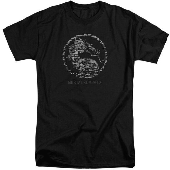 Mortal Kombat Stone Seal Short Sleeve Adult Tall T-Shirt