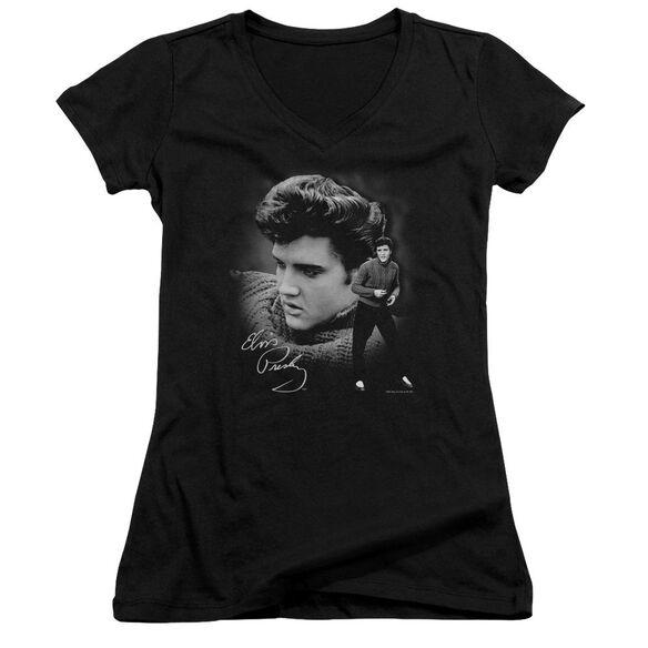 Elvis Sweater Junior V Neck T-Shirt