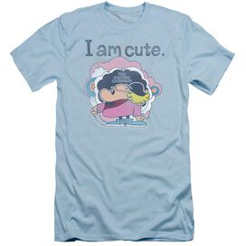 Electric Company I Am Cute Short Sleeve Adult Light T-Shirt