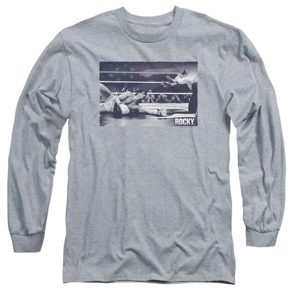 Rocky American Will Long Sleeve Adult Athletic T-Shirt