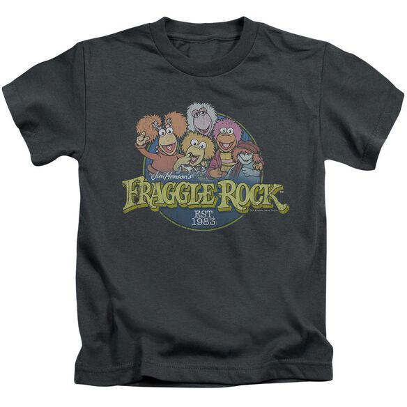 Fraggle Rock Circle Logo Short Sleeve Juvenile T-Shirt
