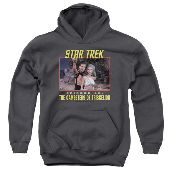 Star Trek Episode 46 Youth Pull Over Hoodie