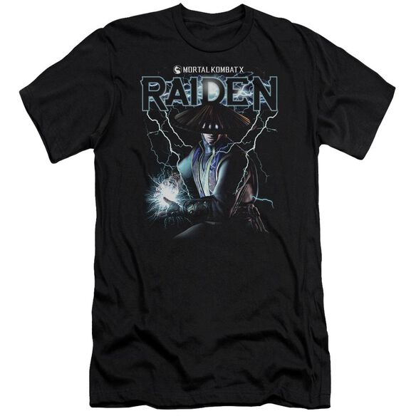 Mortal Kombat Raiden Hbo Short Sleeve Adult T-Shirt