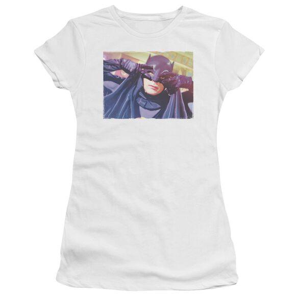 Batman Classic Tv Smooth Groove Short Sleeve Junior Sheer T-Shirt