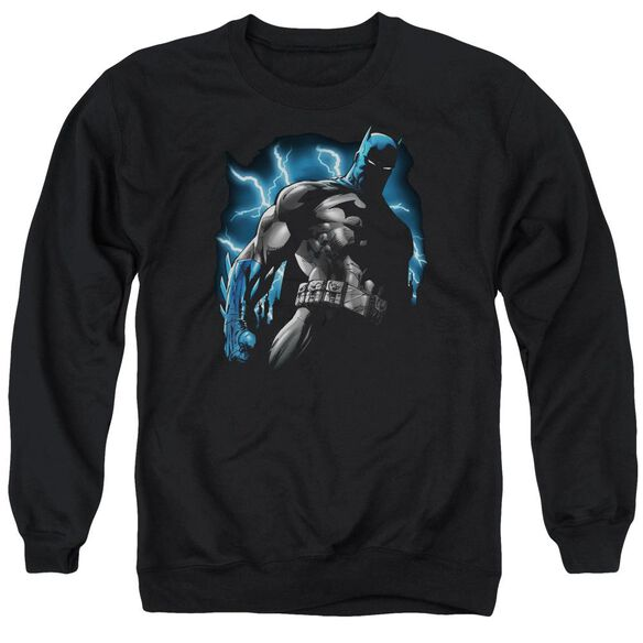 Batman Gotham Lightning Adult Crewneck Sweatshirt