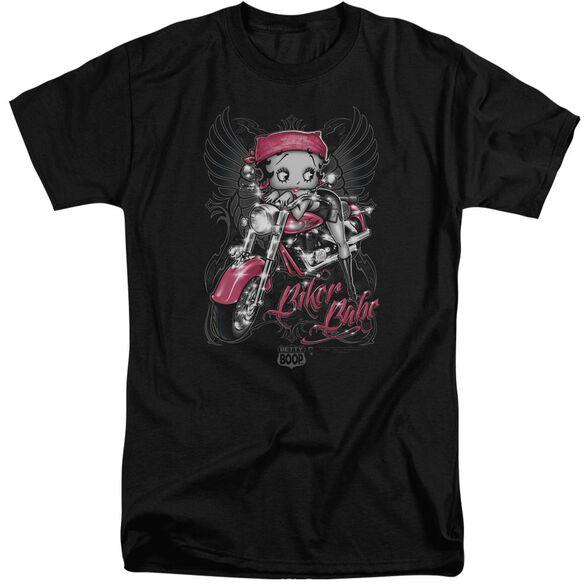 Betty Boop Biker Babe Short Sleeve Adult Tall T-Shirt