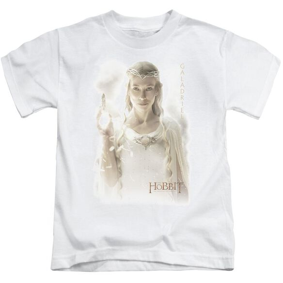 Hobbit Galadriel Short Sleeve Juvenile White T-Shirt