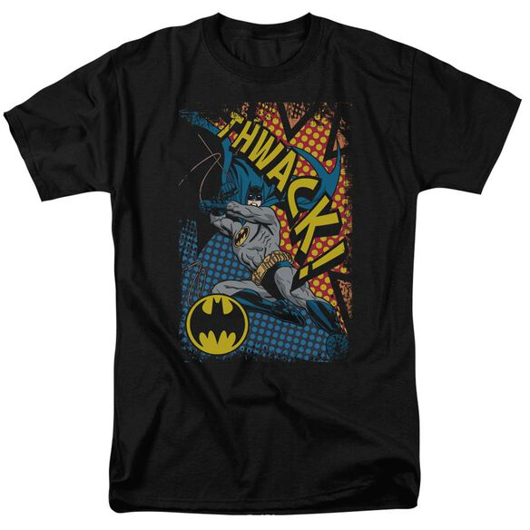 Batman Thwack Short Sleeve Adult T-Shirt