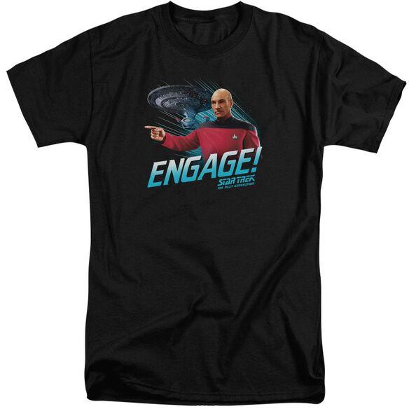 Star Trek Engage Short Sleeve Adult Tall T-Shirt