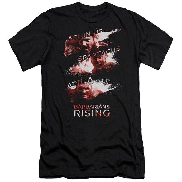 Barbarians Rising Barbarian Splash Hbo Short Sleeve Adult T-Shirt