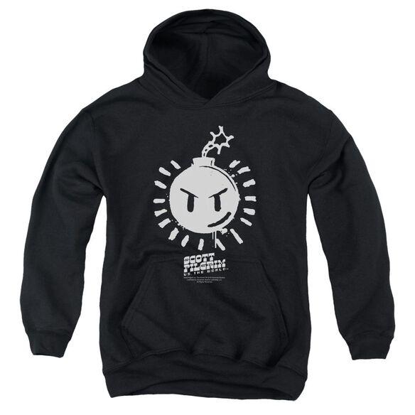 Scott Pilgrim Sex Bob Omb Logo Youth Pull Over Hoodie