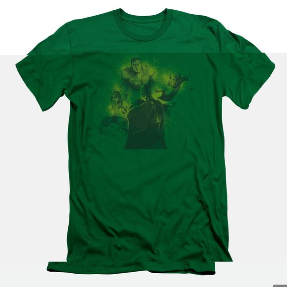 DCO SPRAY SKETCH LEAGUE - S/S ADULT 30/1 - KELLY GREEN T-Shirt