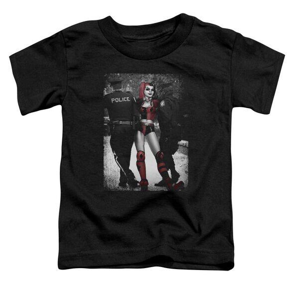 Batman Arrest Short Sleeve Toddler Tee Black T-Shirt