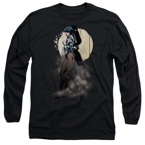 Jla Zatanna Illusion Long Sleeve Adult T-Shirt