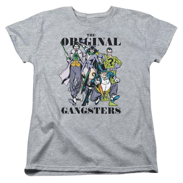 Dc Original Gangsters Short Sleeve Womens Tee Athletic T-Shirt