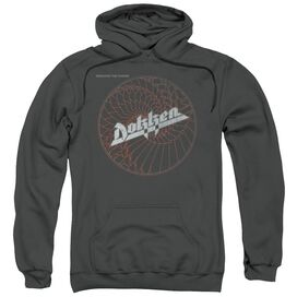 Dokken Breaking The Chains Adult Pull Over Hoodie
