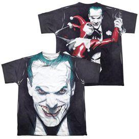 Batman Last Dance (Front Back Print) Short Sleeve Youth Poly Crew T-Shirt