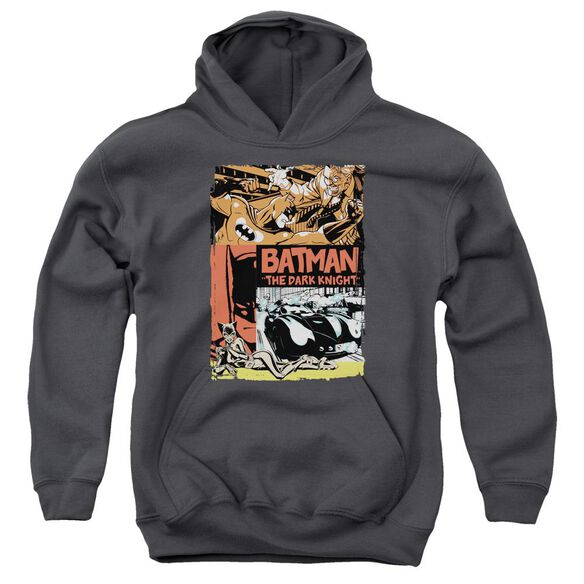 Batman Old Movie Poster Youth Pull Over Hoodie