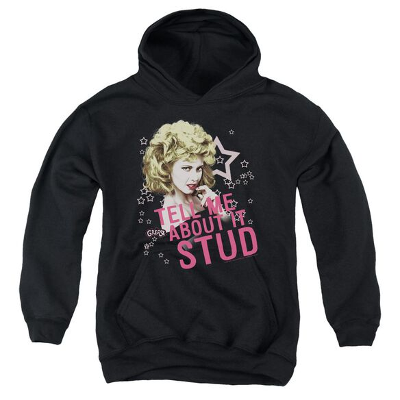 Grease Tell Me About It Stud Youth Pull Over Hoodie