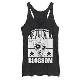 Powerpuff Girls Blossom Tank Top Juniors T-Shirt