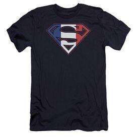 Superman French Shield Premuim Canvas Adult Slim Fit