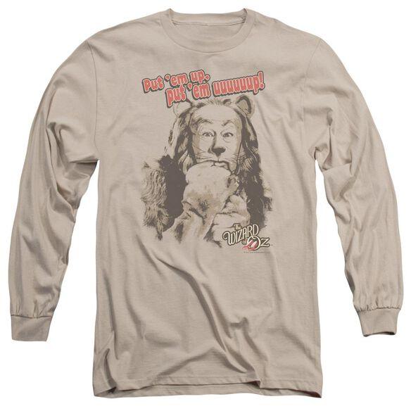 Wizard Of Oz Put Em Up Long Sleeve Adult T-Shirt