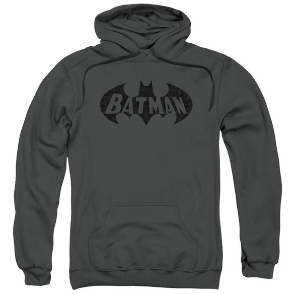 Batman Crackle Bat Adult Pull Over Hoodie