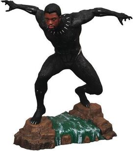 Diamond Select: Marvel Gallery Black Panther - T'Challa unmasked