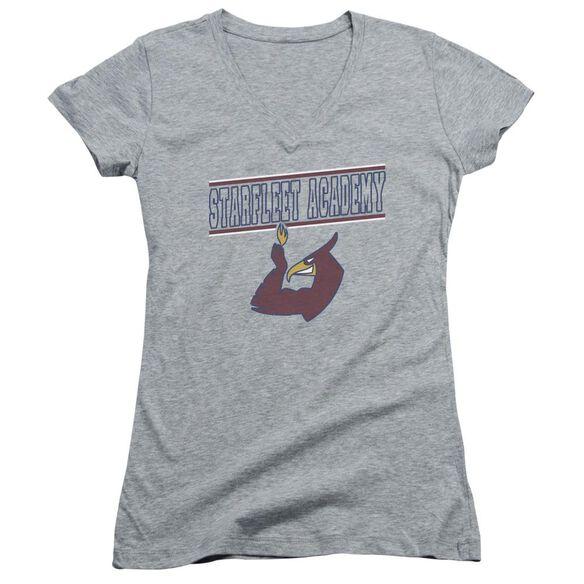 Star Trek Phoenix Junior V Neck Athletic T-Shirt