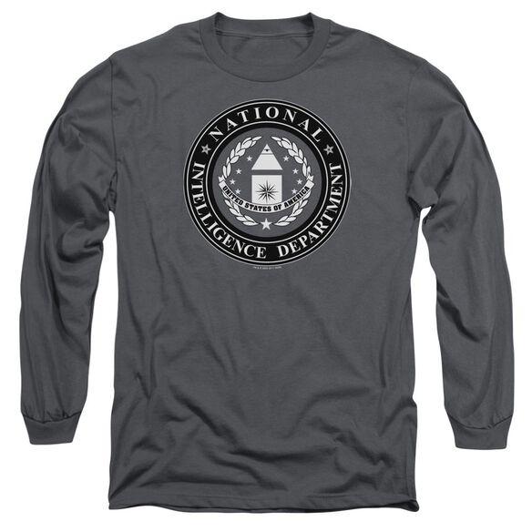 Sg1 Nid Logo Long Sleeve Adult T-Shirt