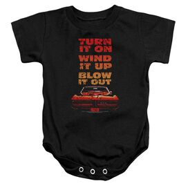 Pontiac Blow It Out Gto Infant Snapsuit Black