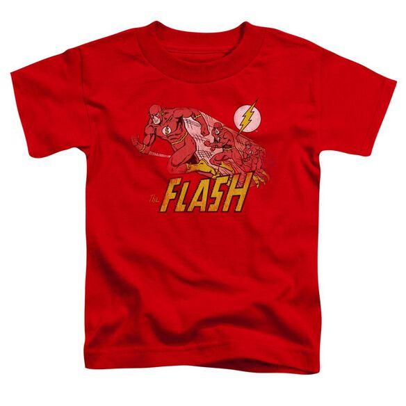 Dc Crimson Comet Short Sleeve Toddler Tee Red Md T-Shirt