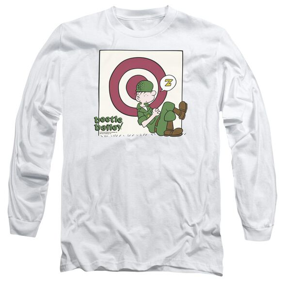 Beetle Bailey Target Nap Long Sleeve Adult T-Shirt