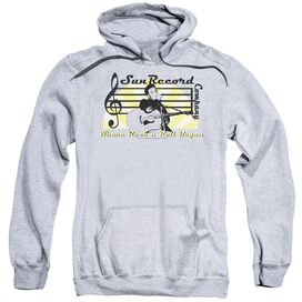Sun Sun Record Company Adult Pull Over Hoodie Athletic