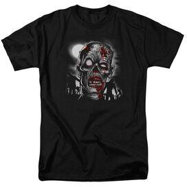 Walking Dead Short Sleeve Adult Black T-Shirt