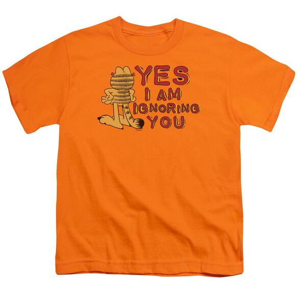 GARFIELD YES I AM - S/S YOUTH 18/1 - ORANGE T-Shirt