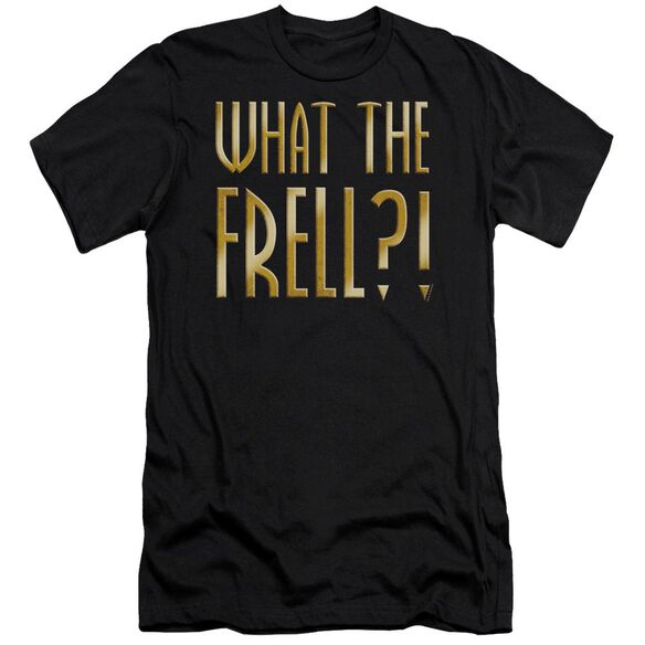 FARSCAPE WHAT THE FRELL - S/S ADULT 30/1 - BLACK T-Shirt