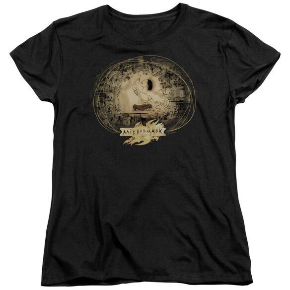 Mirrormask Sketch Short Sleeve Women's Tee T-Shirt