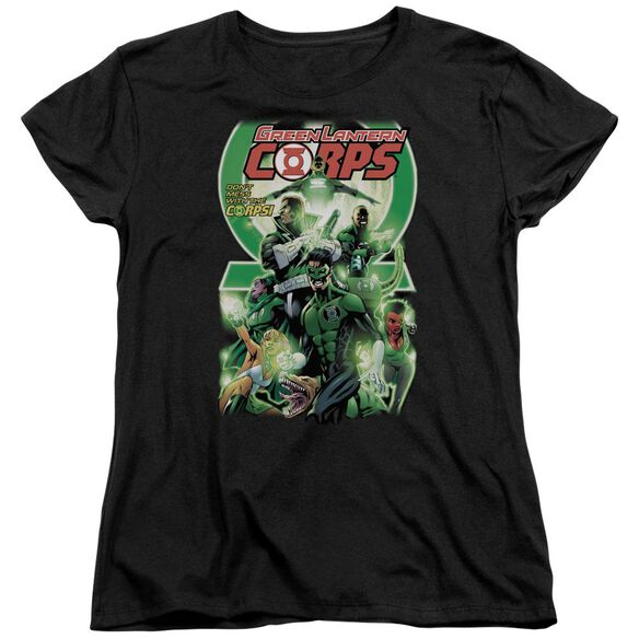 Green Lantern Gl Corps #25 Cover Short Sleeve Womens Tee T-Shirt