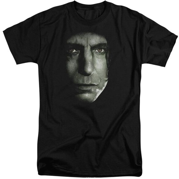 Harry Potter Snape Head Short Sleeve Adult Tall T-Shirt