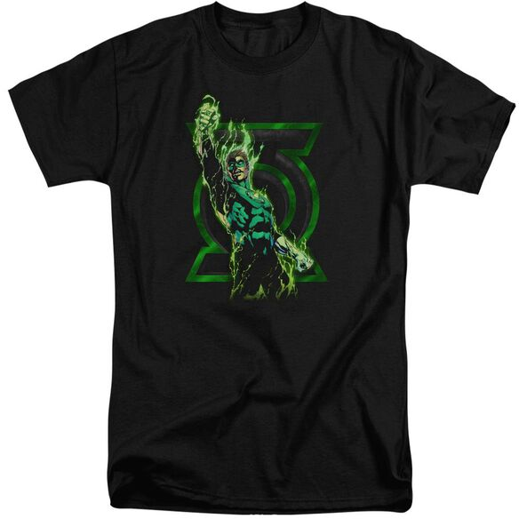 Green Lantern Fully Charged Short Sleeve Adult Tall T-Shirt