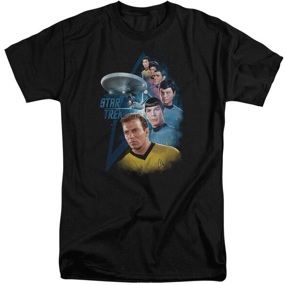 Star Trek Among The Stars Short Sleeve Adult Tall T-Shirt