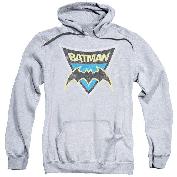 Batman Bb Batman Shield Adult Pull Over Hoodie Athletic