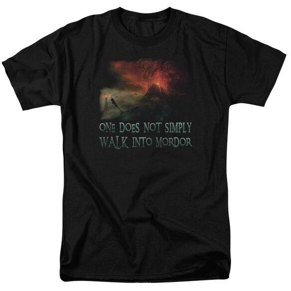 Lor Walk In Mordor Short Sleeve Adult T-Shirt